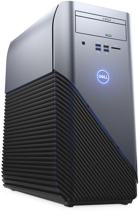 Компьютер  DELL Inspiron 5675,  AMD  Ryzen 7  1700X,  DDR4 8Гб, 1000Гб,  128Гб(SSD),  NVIDIA GeForce GTX 1060 - 6144 Мб,  DVD-RW,  Windows 10 Home,  черный [5675-4803]