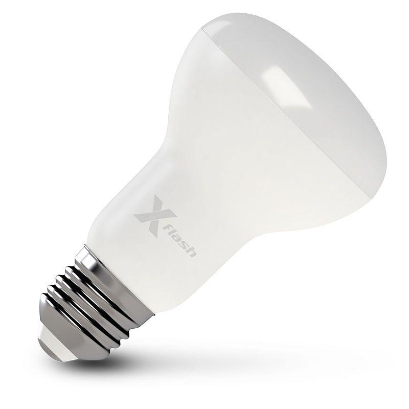 Лампа X-FLASH XF-E27-R63, 10Вт, 820lm, 50000ч,  3000К, E27,  10 шт. [48458/10]