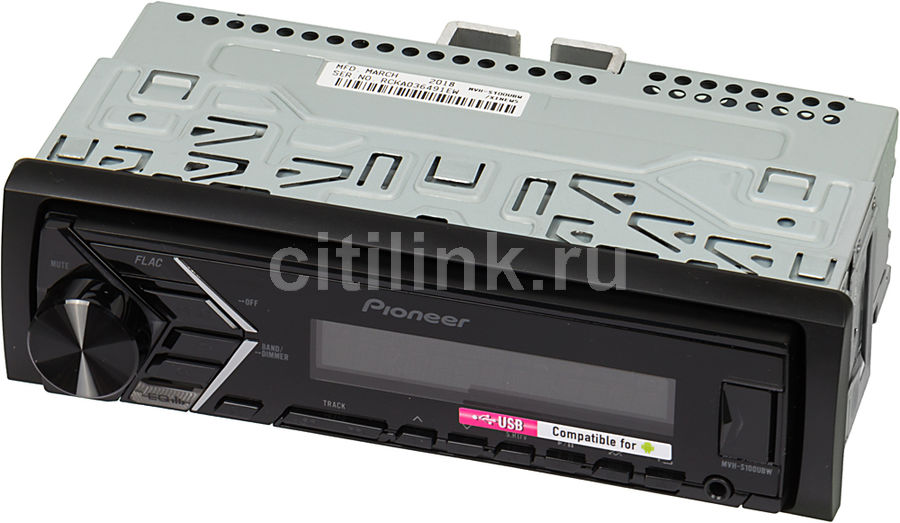 Автомагнитола PIONEER MVH-S100UBW
