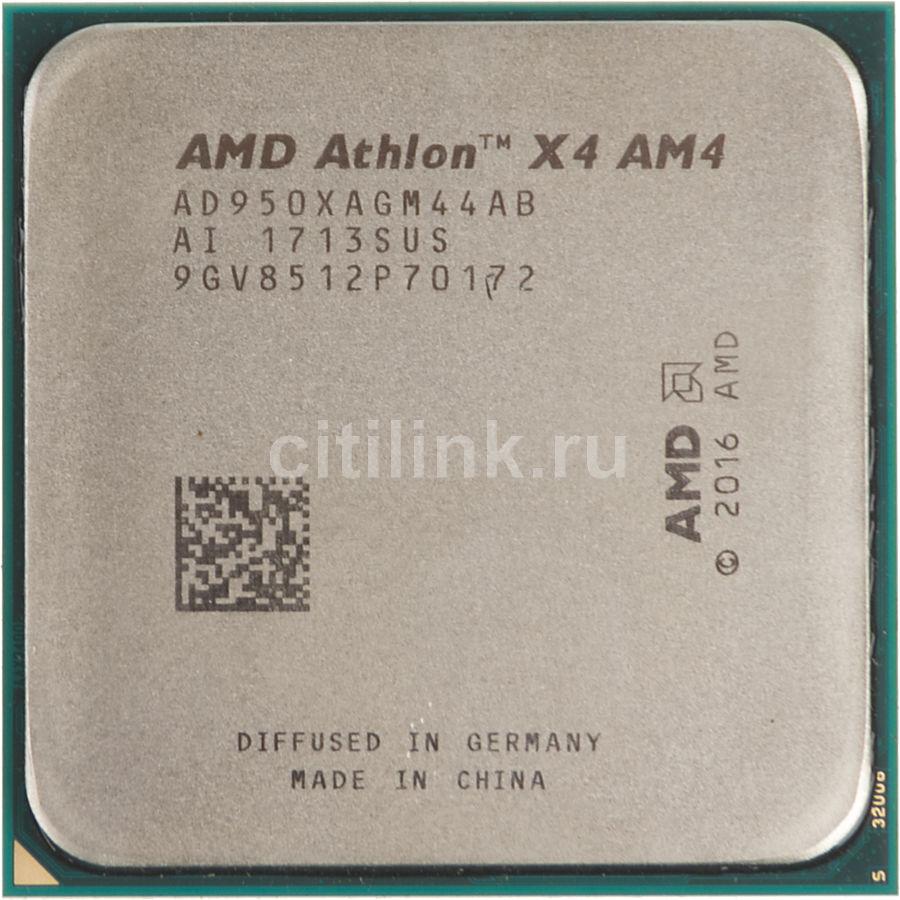 Процессор AMD Athlon X4 950, SocketAM4 OEM [ad950xagm44ab]