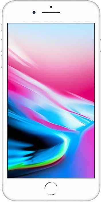 Смартфон APPLE iPhone 8 Plus 64Gb,  MQ8M2RU/A,  серебристый