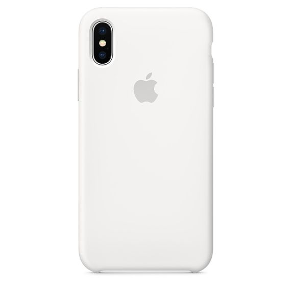 Чехол (клип-кейс) APPLE MQT22ZM/A, для Apple iPhone X, белый