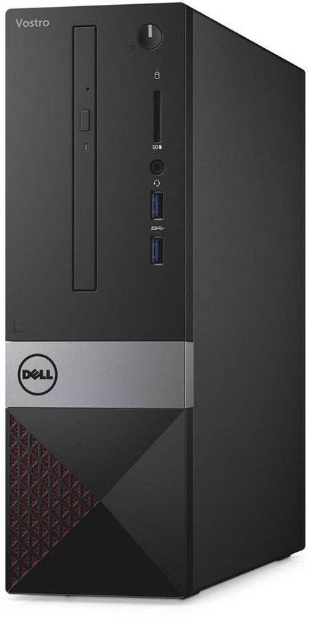 Компьютер  DELL Vostro 3268,  Intel  Core i5  7400,  DDR4 4Гб, 1000Гб,  Intel HD Graphics 630,  DVD-RW,  CR,  Linux,  черный [3268-4841]