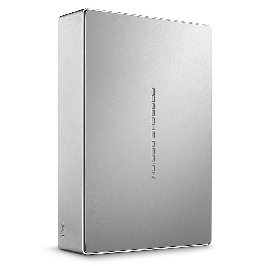 Внешний жесткий диск LACIE Porsche Design Desktop STFE4000401, 4Тб, серебристый