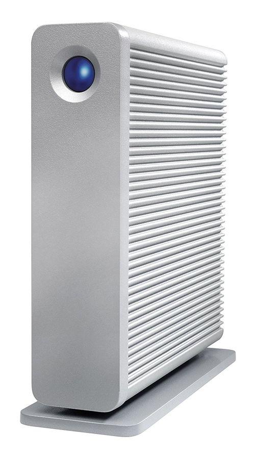 Внешний жесткий диск LACIE D2 Quadra LAC9000258EK, 4Тб, серебристый
