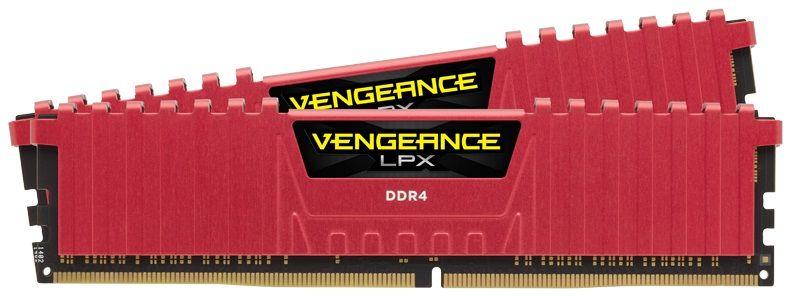 Модуль памяти CORSAIR Vengeance LPX CMK16GX4M2B3733C17R DDR4 -  2x 8Гб 3733, DIMM,  Ret