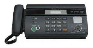 Факс PANASONIC KX-FT988RU-B,  на термобумаге,  черный