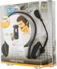 Наушники с микрофоном CREATIVE HS-390,  51MZ0305AA005,  накладные, серебристый  / черный вид 9