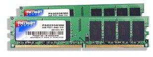 Модуль памяти PATRIOT DDR3 -  2x 1Гб 1333, DIMM,  Ret