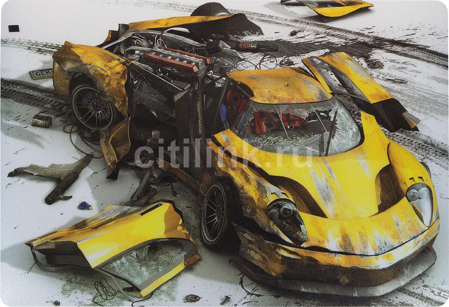 Коврик для мыши PC PET MP-GM02 Gamer Yellow car рисунок [mp-gm02yc gamer (yellow car)]