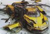 Коврик для мыши PC PET MP-GM02 Gamer Yellow car рисунок [mp-gm02yc gamer (yellow car)] вид 1