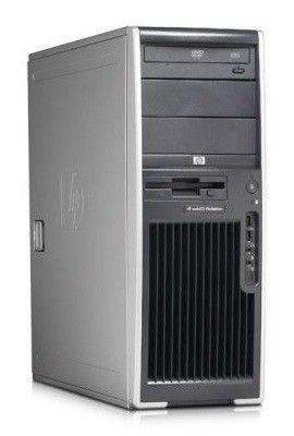 HP xw4600,  Intel  Core2 Quad  Q9650,  DDR2 4Гб, 500Гб,  DVD-RW,  CR,  Windows Vista Business,  черный [kk505ea]
