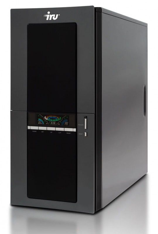 IRU Brava Home 114,  AMD  Phenom X4  9650,  DDR2 2Гб, 500Гб,  nVIDIA GeForce 9600 GT - 512 Мб,  DVD-RW,  Windows Vista Home Basic,  черный