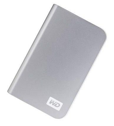 Внешний жесткий диск WD My Passport Essential WDMES3200TE, 320Гб, серебристый