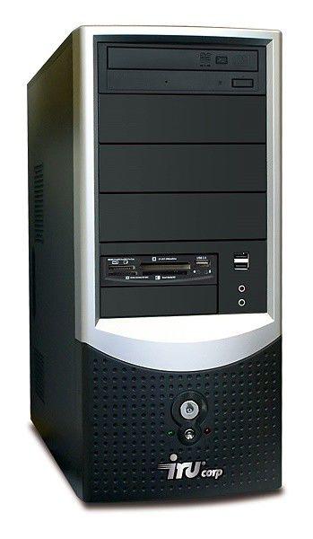 IRU Ergo Corp 113,  AMD  Athlon 64 X2  4400+,  DDR2 1Гб, 160Гб,  ATI Radeon X1200,  DVD-RW,  Windows Vista Starter,  черный