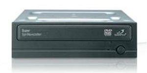 Оптический привод DVD-RW SAMSUNG SH-S222A/BEBET, внутренний, IDE, черный,  OEM