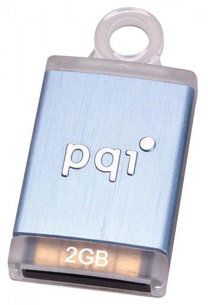 Флешка USB PQI Intelligent Drive i810 Plus 2Гб, USB2.0, голубой