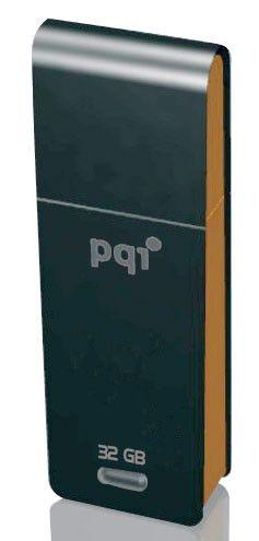 Флешка USB PQI Traveling Disk i221 32Гб, USB2.0, черный и оранжевый