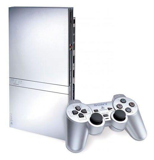 Игровая консоль SONY PlayStation 2 PS719902225, серебристый