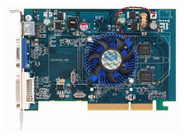 Видеокарта SAPPHIRE Radeon HD 2400 Pro,  512Мб, DDR2, oem [11114-xx-10r]