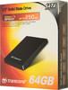 SSD накопитель TRANSCEND 64Гб, 2.5