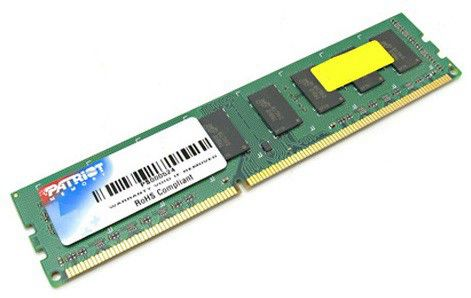 Модуль памяти PATRIOT DDR3 -  2Гб 1066, DIMM,  Ret