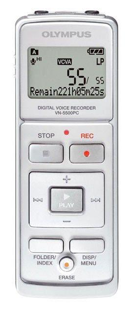 Диктофон OLYMPUS VN-5500PC 512Мб,  черный [n2278021]