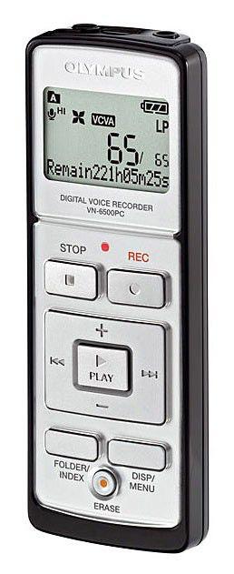 Диктофон OLYMPUS VN-6500PC 512Мб,  черный [n2278121]