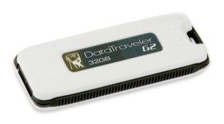 Флешка USB KINGSTON DataTraveler Generation 2 32Гб, USB2.0, черный и белый [dtig2/32gb]
