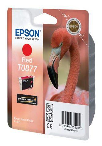 Картридж EPSON T0877 красный [c13t08774010]