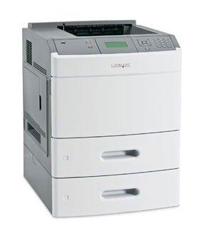 Принтер LEXMARK T654dtn лазерный, цвет:  белый [30g0339]