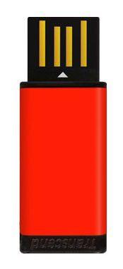 Флешка USB TRANSCEND Jetflash T5R 8Гб, USB2.0, красный и черный [ts8gjft5r]