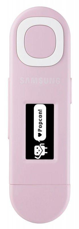 MP3 плеер SAMSUNG YP-U5 flash 2Гб розовый [yp-u5qp/xer]