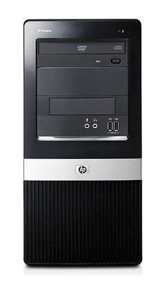 HP dx2420MT,  Intel  Pentium Dual-Core  E5200,  DDR2 1Гб, 160Гб,  Intel GMA X3100,  DVD-RW,  Free DOS,  черный [nn653ea]