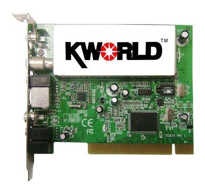 ТВ-тюнер KWORLD VS-TV713XRF,  внутренний