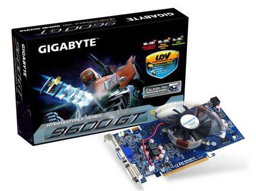 Видеокарта GIGABYTE GeForce 9600 GT,  512Мб, DDR3, Ret [gv-n96tzl-512i]