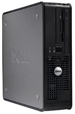DELL Optiplex 760,  Intel  Pentium Dual-Core  E5200,  DDR2 2Гб, 320Гб,  Intel GMA X4500,  DVD-RW,  Windows Vista Business,  черный [210-25316]