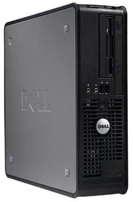DELL Optiplex 760,  Intel  Core2 Duo  E7400,  DDR2 2Гб, 320Гб,  Intel GMA X4500,  DVD-RW,  Windows Vista Business,  черный [210-26889]