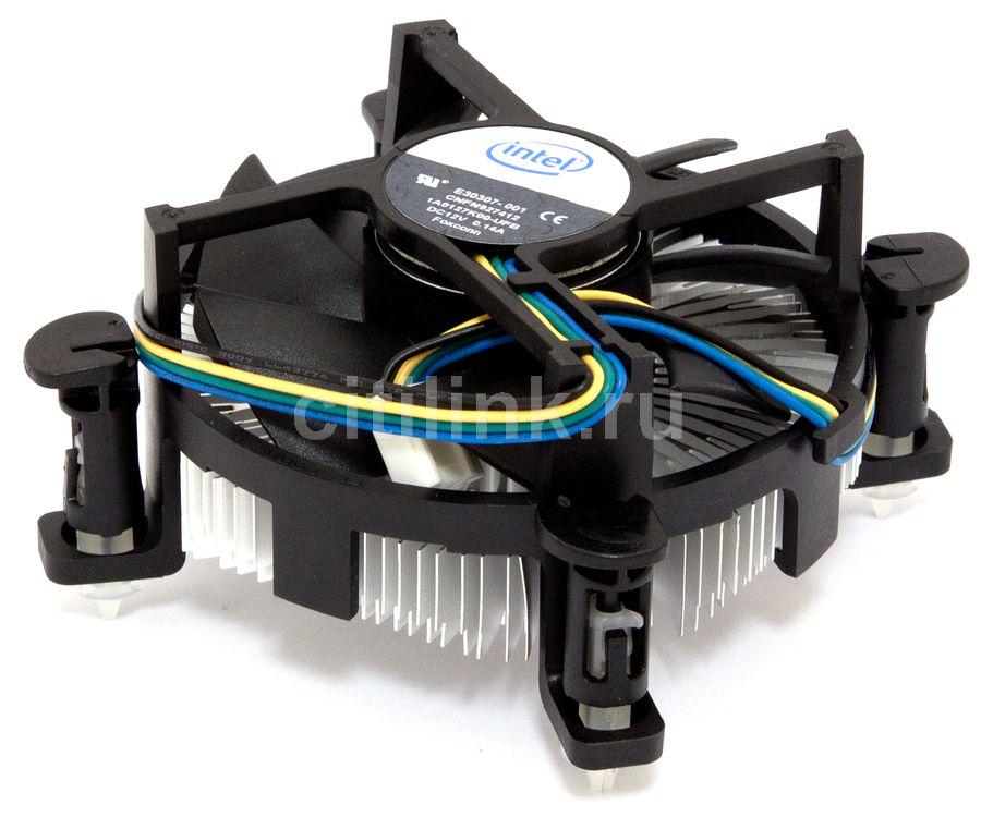 Устройство охлаждения(кулер) INTEL P4, LGA775, 4pin, Алюминий+медь,  Ret