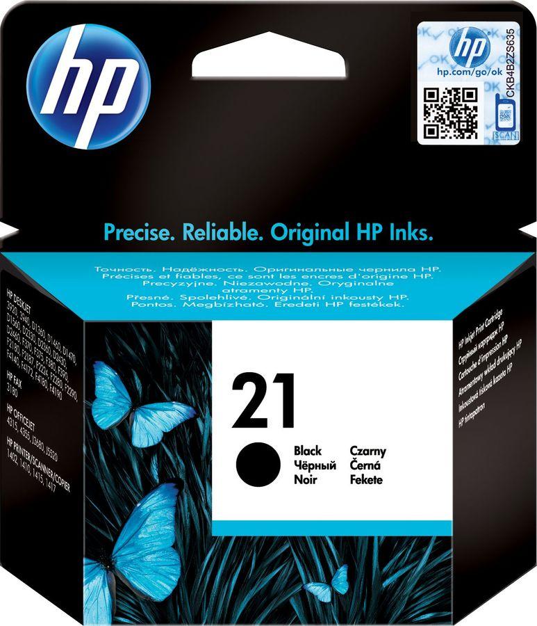 Картридж HP 21 черный [c9351ae]