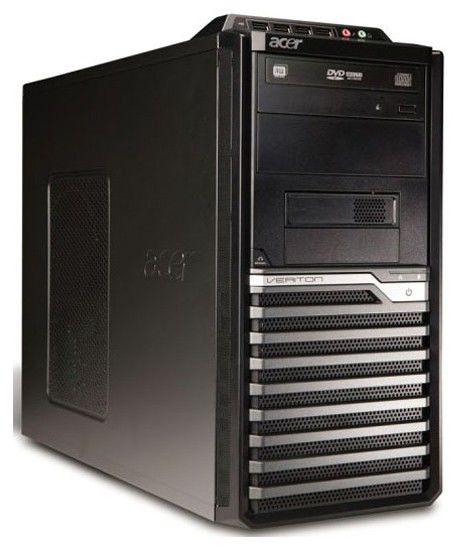 ACER Veriton M670G,  Intel  Pentium Dual-Core  E5300,  DDR3 2Гб, 160Гб,  Intel GMA X4500,  DVD-RW,  Windows Vista Business,  черный [p0.iue7z.9fs]