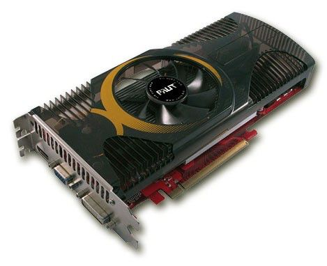 Видеокарта PALIT GeForce GTS 250,  1Гб, DDR3, oem [ne3ts25nfhd02]