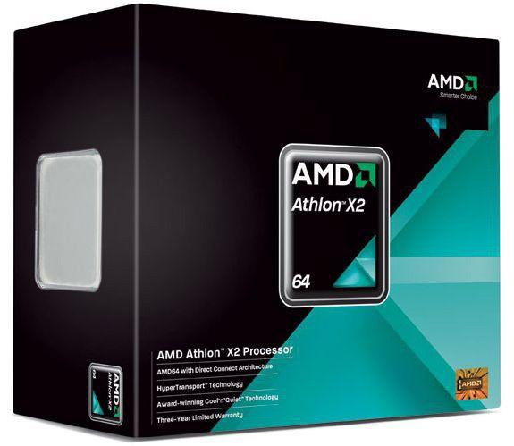 Процессор AMD Athlon 64 X2 4850E, SocketAM2 [adh4850dobox]