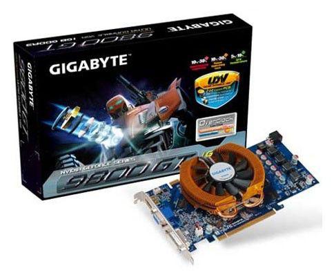 Видеокарта GIGABYTE GeForce 9800 GT,  1Гб, DDR3, Ret [gv-n98toc-1gi 2.0]
