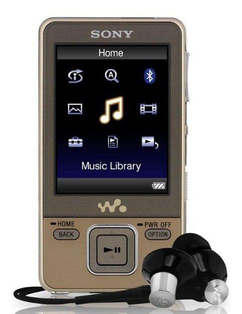 MP3 плеер SONY NWZ-A726N flash 4Гб золотистый [nwza726n]