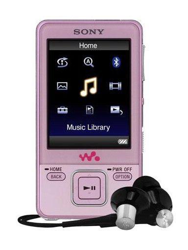MP3 плеер SONY NWZ-A728P flash 8Гб розовый [nwza728p]