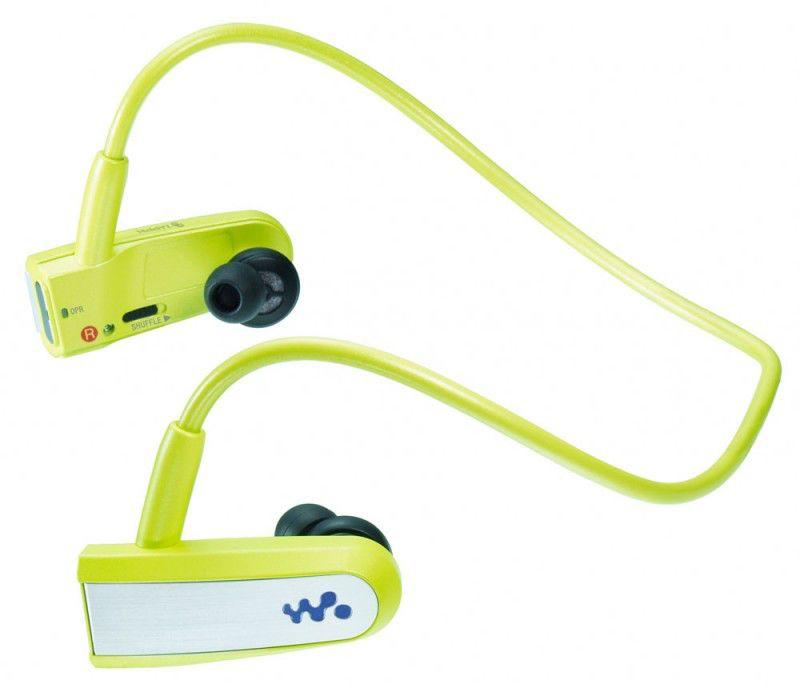 MP3 плеер SONY NWZ-W202G flash 2Гб зеленый [nwzw202g]