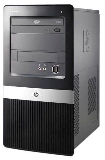 HP dx2420MT,  Intel  Pentium Dual-Core  E5300,  DDR2 2Гб, 320Гб,  Intel GMA X3100,  DVD-RW,  Windows Vista Business,  черный [vc504ea]
