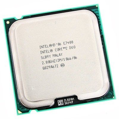 Процессор INTEL Core 2 Duo E7400, LGA 775 [at80571ph0723mls lgw3]