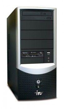 ПК iRU Intro Corp 123 PDC-E5200(2500)/2048/160/HD3450-512/DVD-RW/CR/black